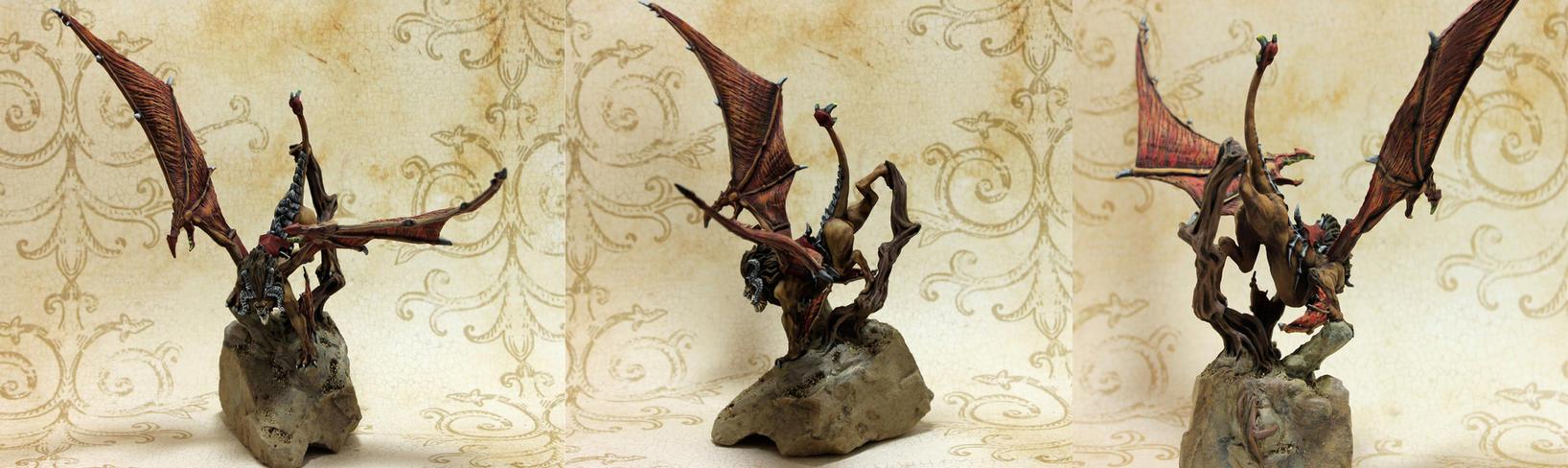 Manticore Details by MiniatureMistress