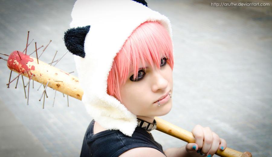 Luki: Panda Hero II by aruftw