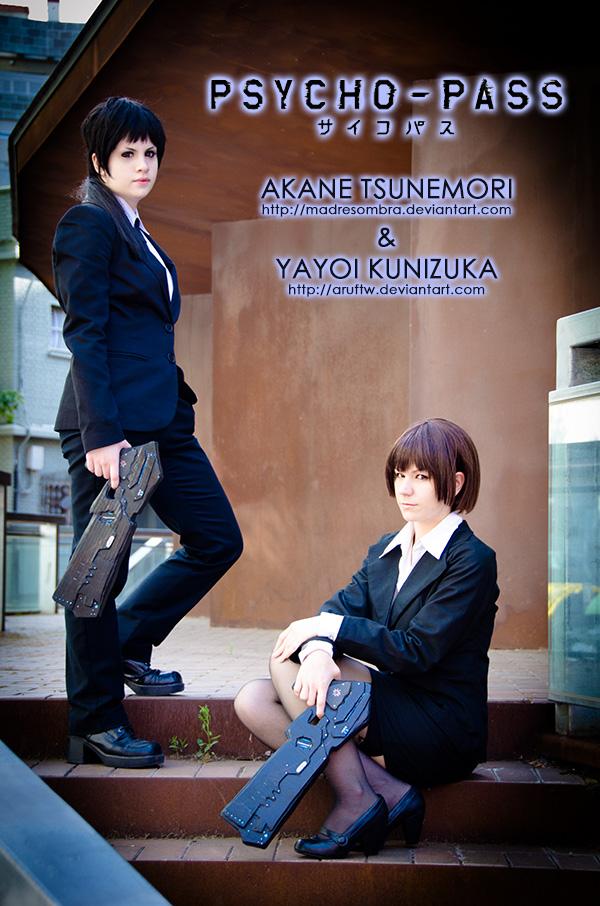 PSYCHO-PASS: Yayoi and Akane by aruftw
