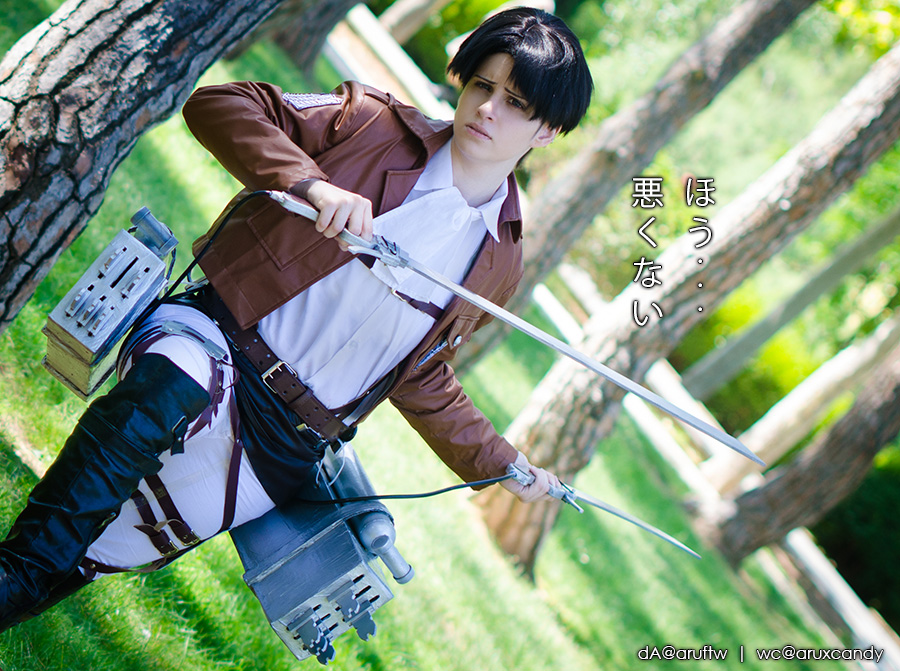 snk: Levi by aruftw