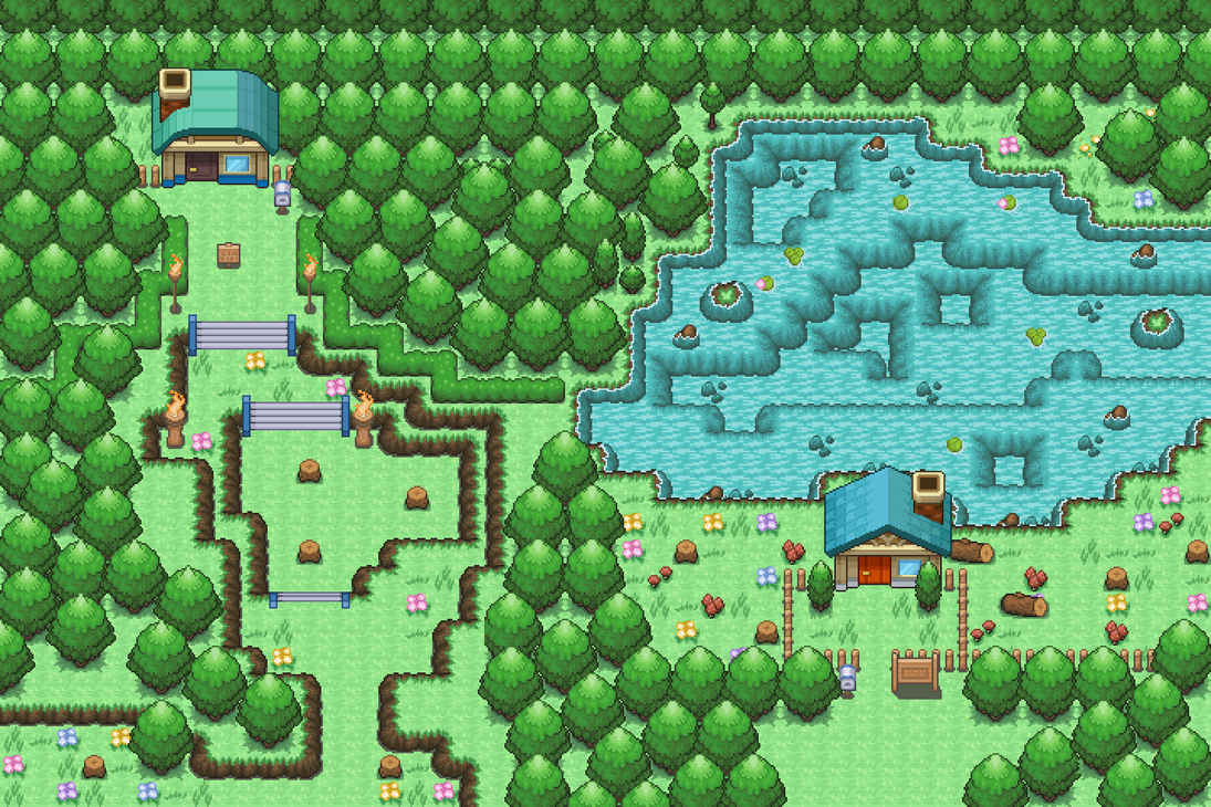 Pokemon Map 002 By R4fzone By R4fzone On Deviantart