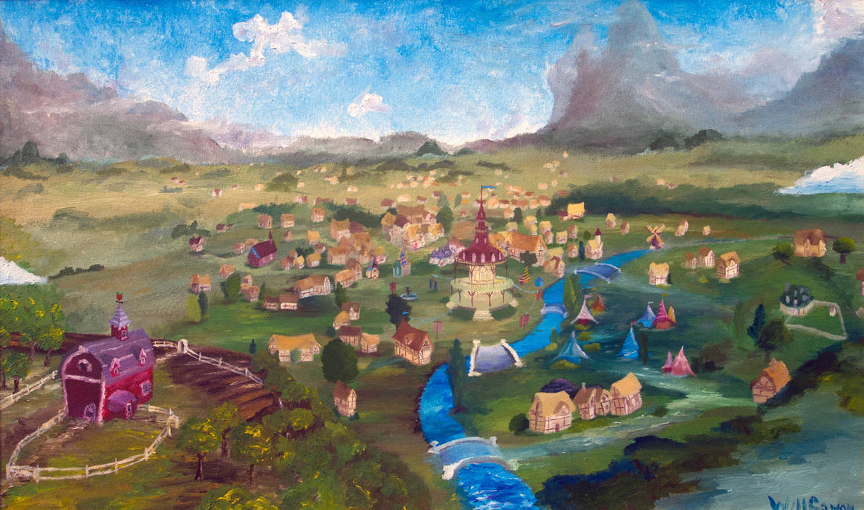 Ponyville by Tridgeon