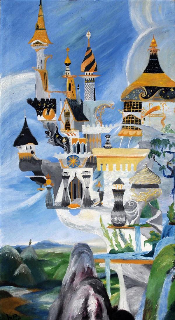 Canterlot by Tridgeon