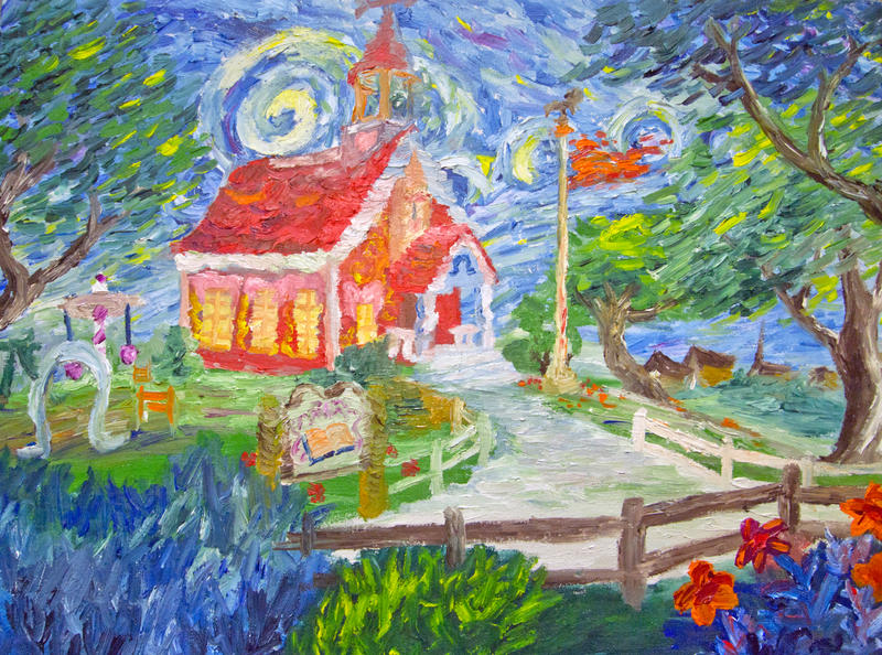 Schoolhouse by Tridgeon