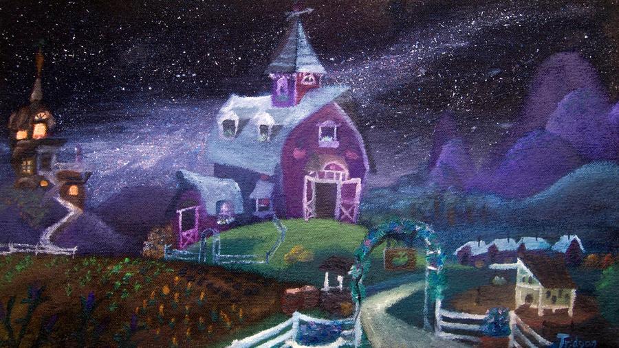 Zap Apple Night by Tridgeon