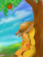 Apple Siesta by Tridgeon
