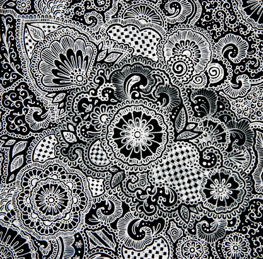 gallery for henna pattern wallpaper