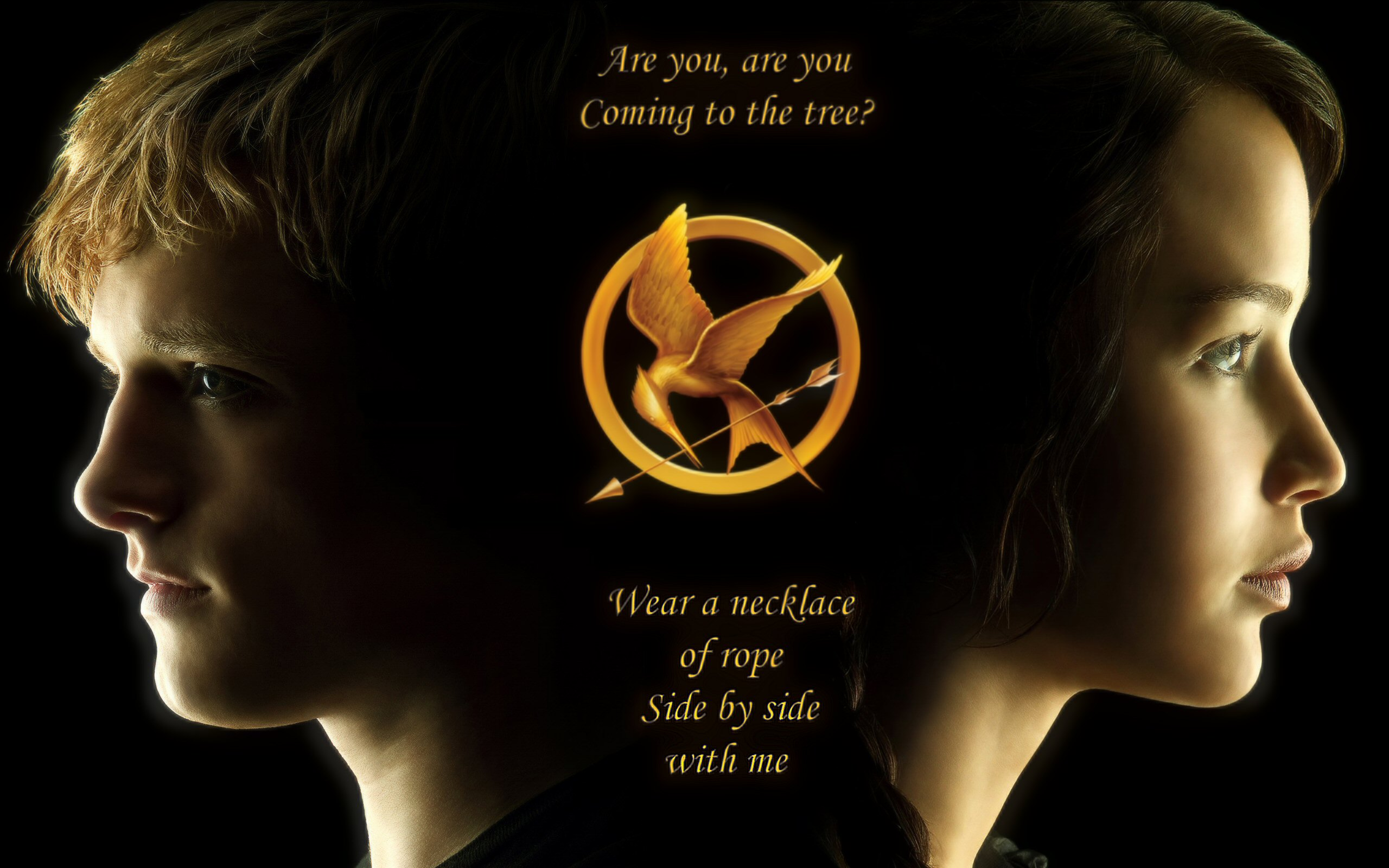 Hunger Games Wallpaper The Hanging Tree By Librarian Byday