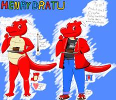 Henry Dratu reference (Alternate OC) by DraggyStar