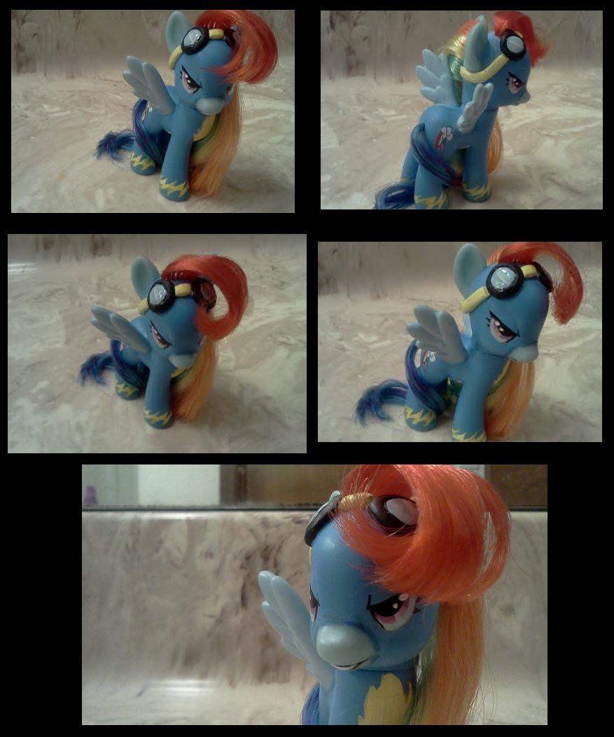 Wonderbolt Rainbow Dash custom by Busoni