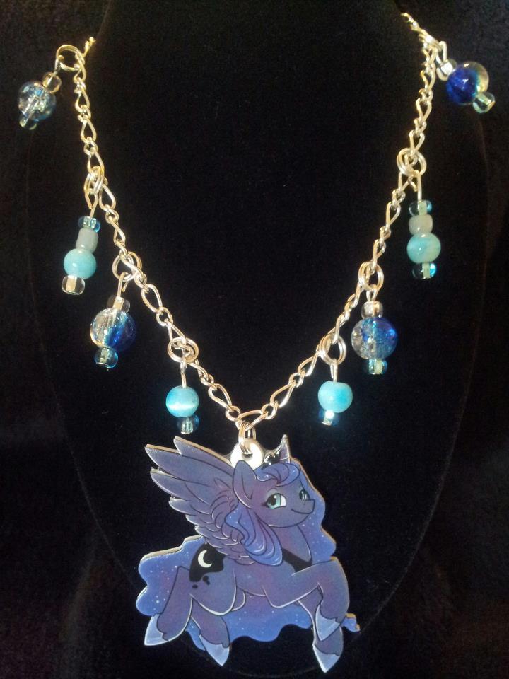 Princess Luna Necklace by Busoni