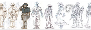 Fable 2 Character concepts