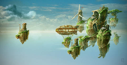 World Building by OmenD4