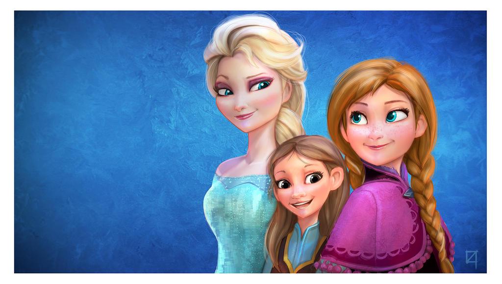 Frozen invite by OmenD4