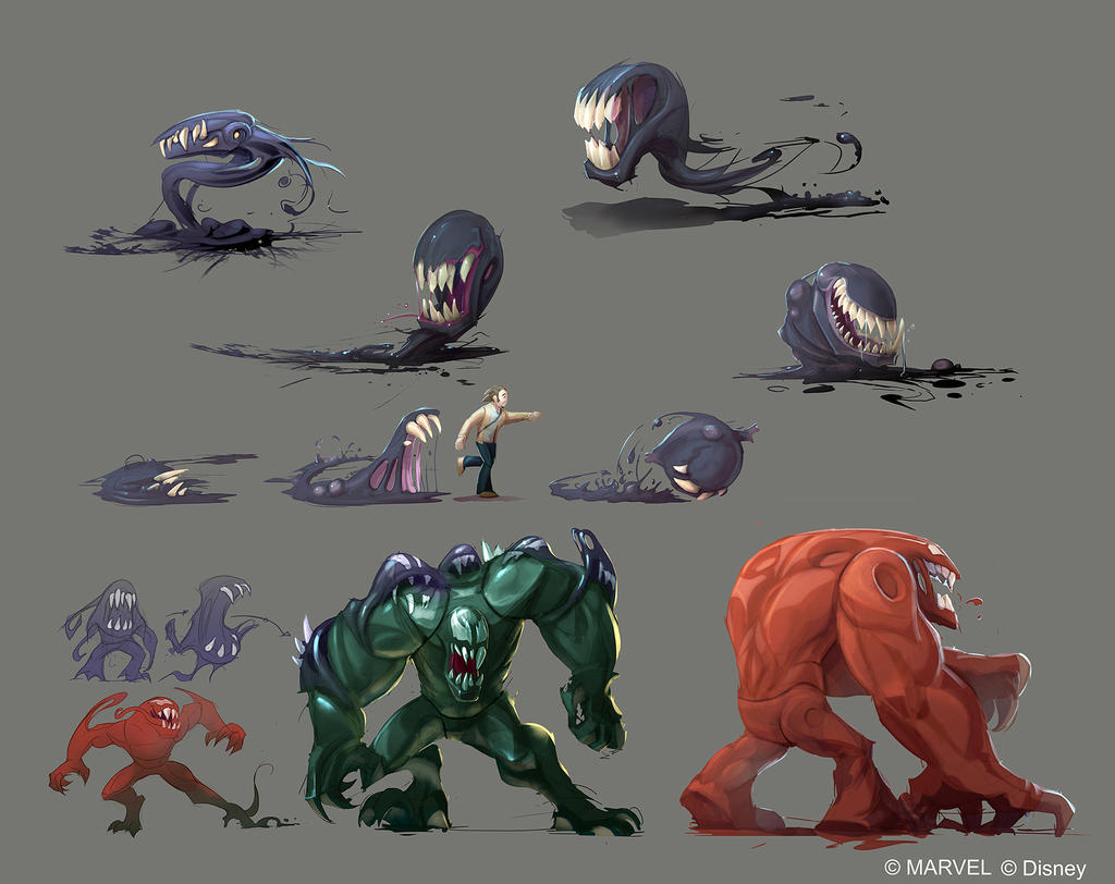 Disney Infinity 2.0 - Symbiotes by OmenD4