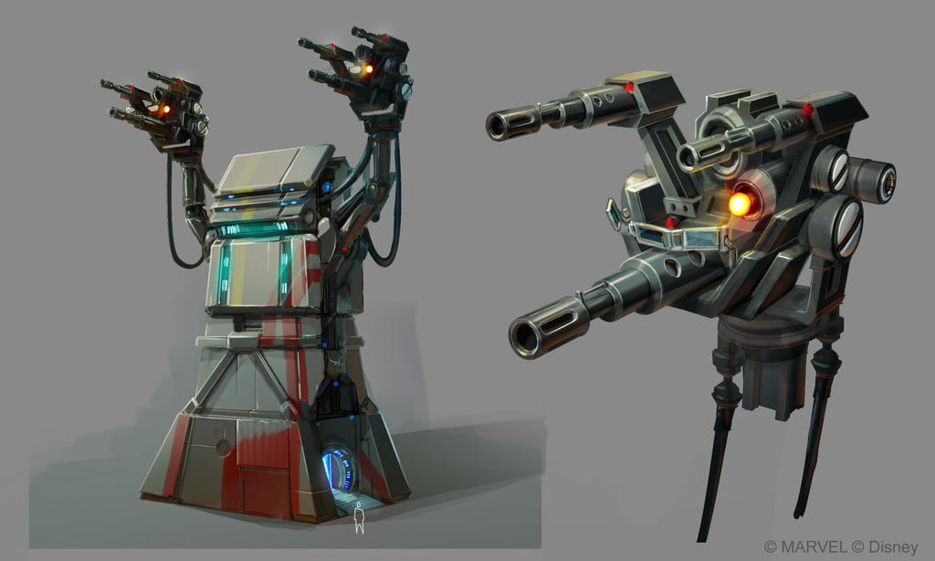 Disney Infinity 2.0 -  Tower Turret by OmenD4