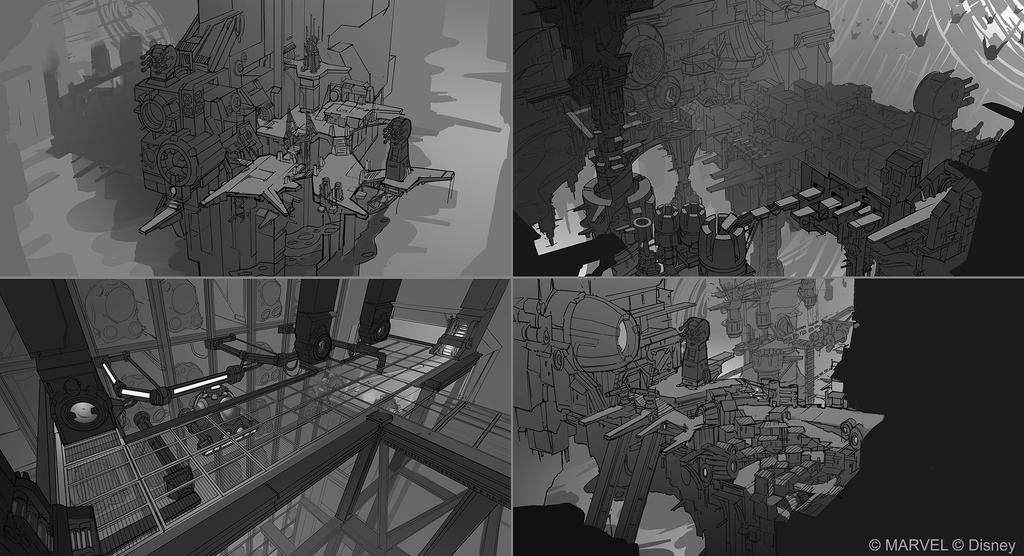 Disney Infinity 2.0 - Docks play space by OmenD4