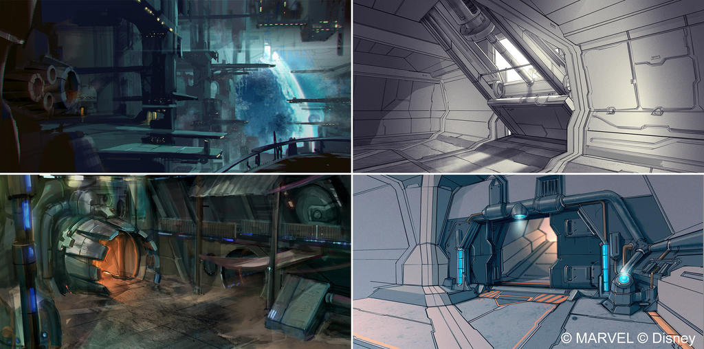 Disney Infinity 2.0 - Knowhere Docks by OmenD4