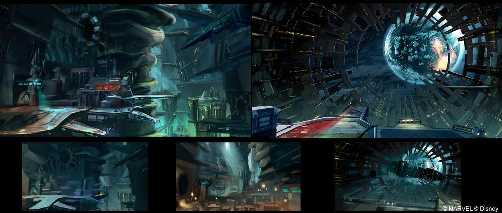 Disney Infinity 2.0 - Knowhere Docks 2 by OmenD4
