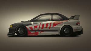 Subaru Impreza Time Attack Vec