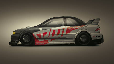 Subaru Impreza Time Attack Vec by depot-hdm