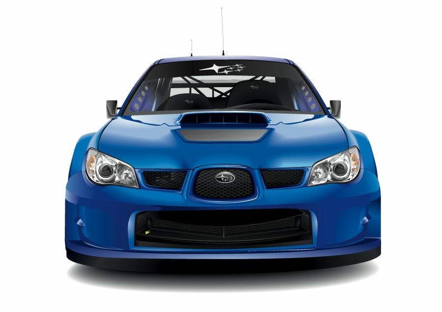 Subaru Logo Vector Subaru Impreza Wrc Vector by