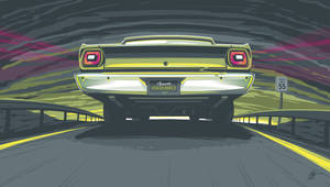 Plymouth Roadrunner Vector by depot-hdm