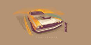Dodge Challenger Vector