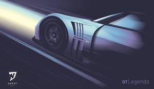 Skyline GTR Vector by depot-hdm