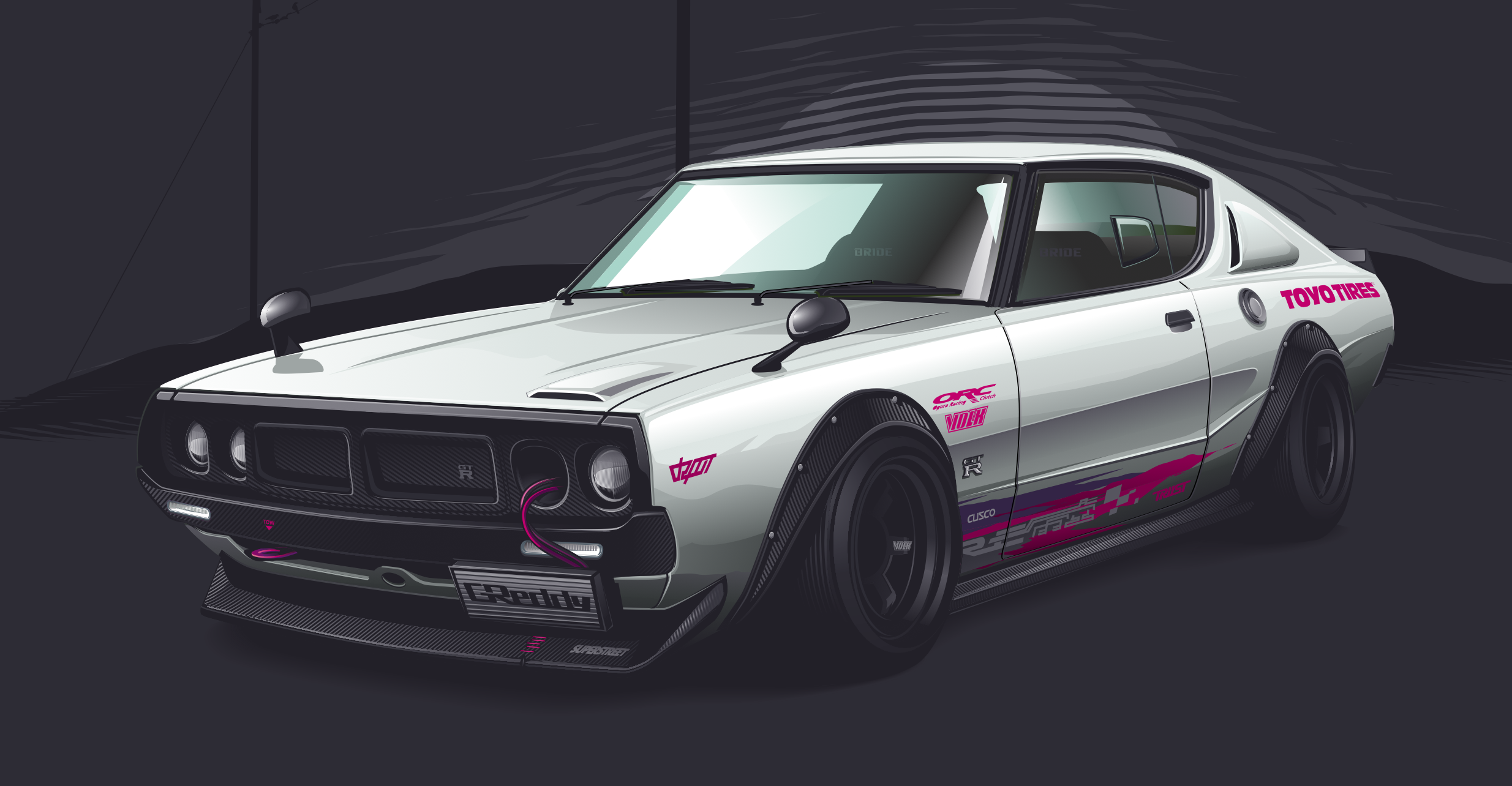 nissan skyline wallpaper download gallery