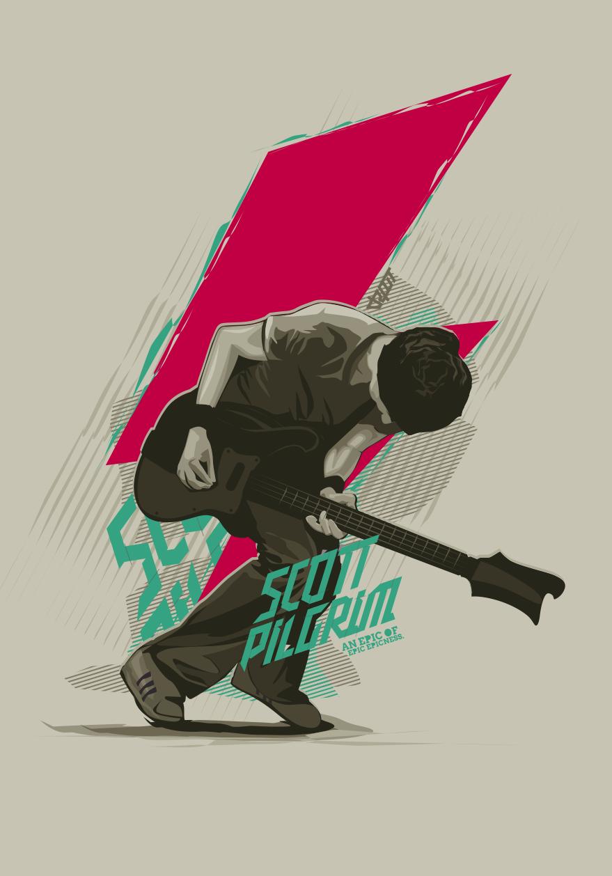 scott pilgrim vector by depot-hdm