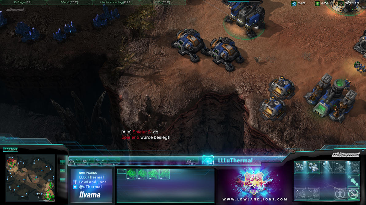 sc2 overlay by depot-hdm