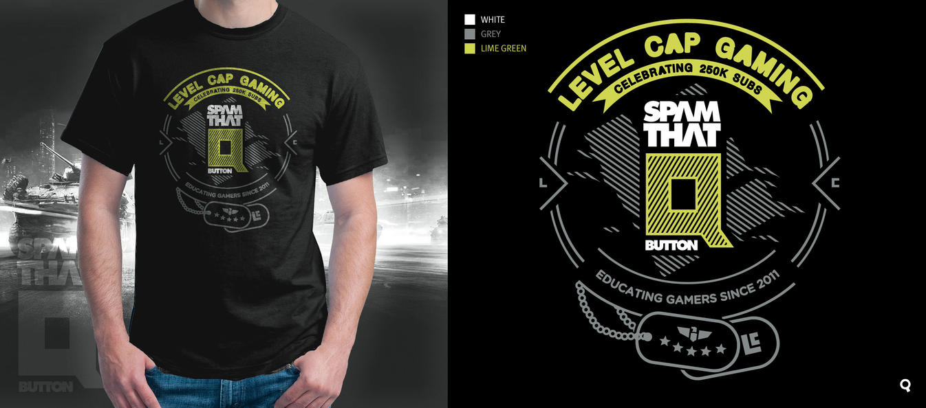 Level Cap T-Shirt Contest by depot-hdm