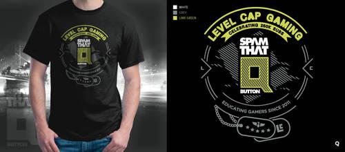 Level Cap T-Shirt Contest by depot-hdm