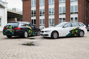 company car wrapping kreativrudel by depot-hdm