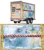 equipment trailer wrapping