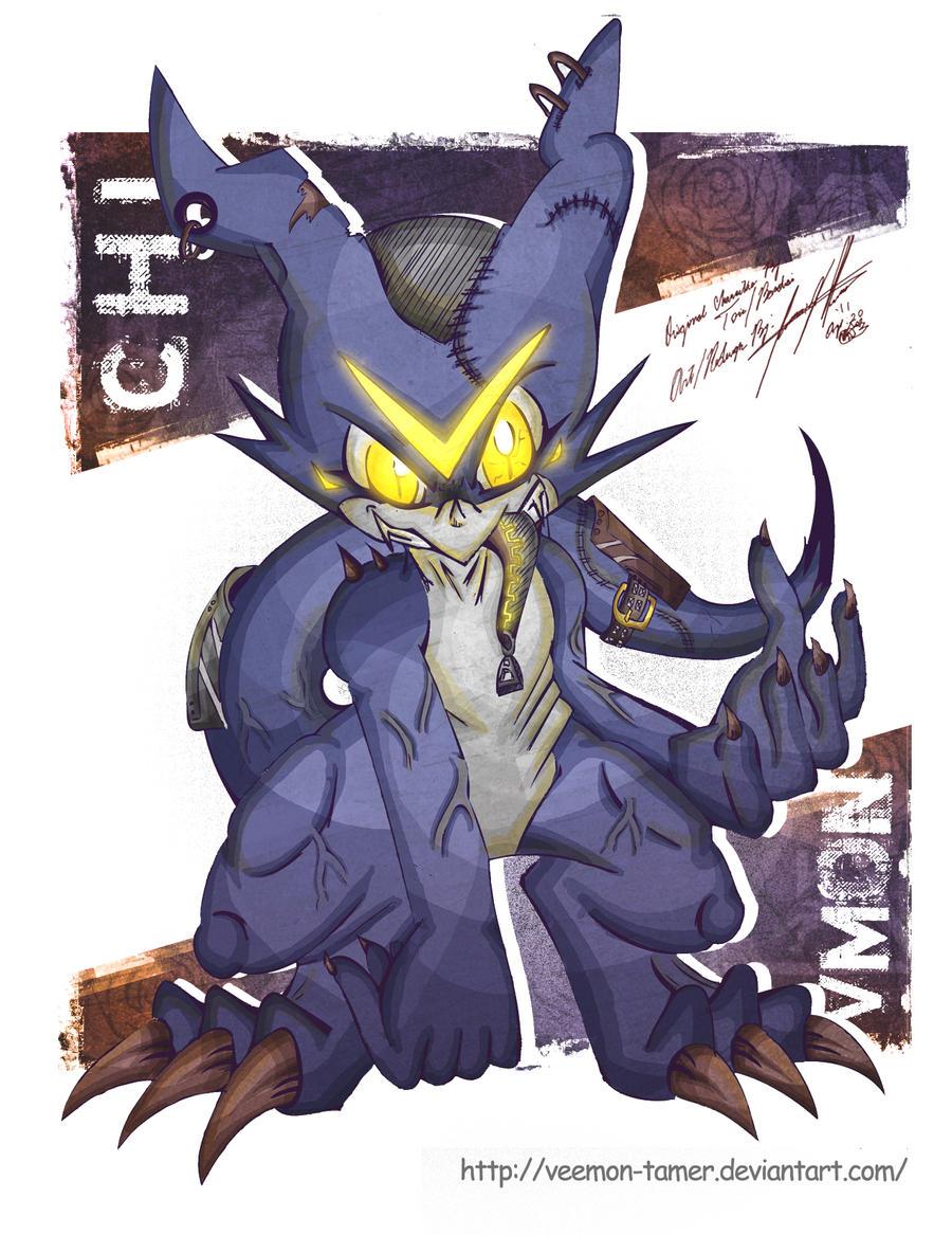 CHI V-MON by veemon-tamer