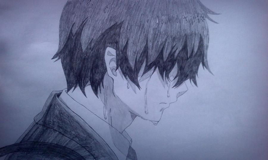 how to draw anime tears