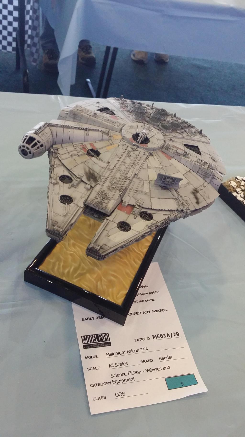 Bandai Hobby Star Wars   A Wing Starfighter Building Kit