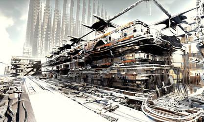 Energy Station B by erabyterum