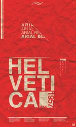 1957 Helvetica by alesfuck