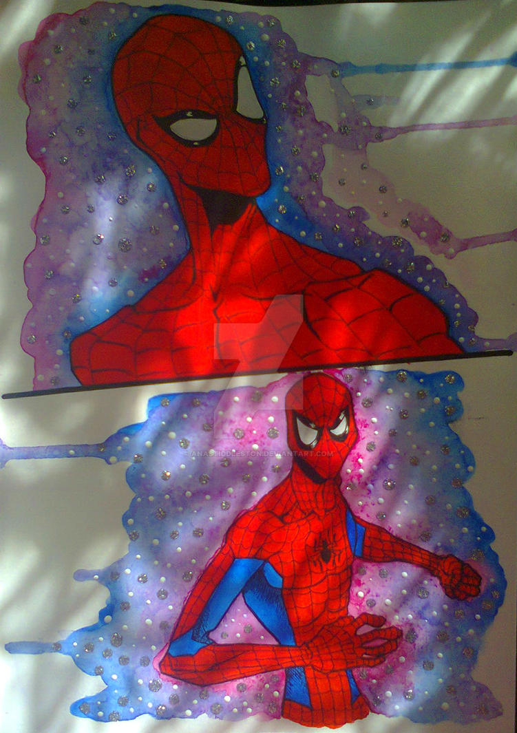 Sunny Spider by anastiddleston