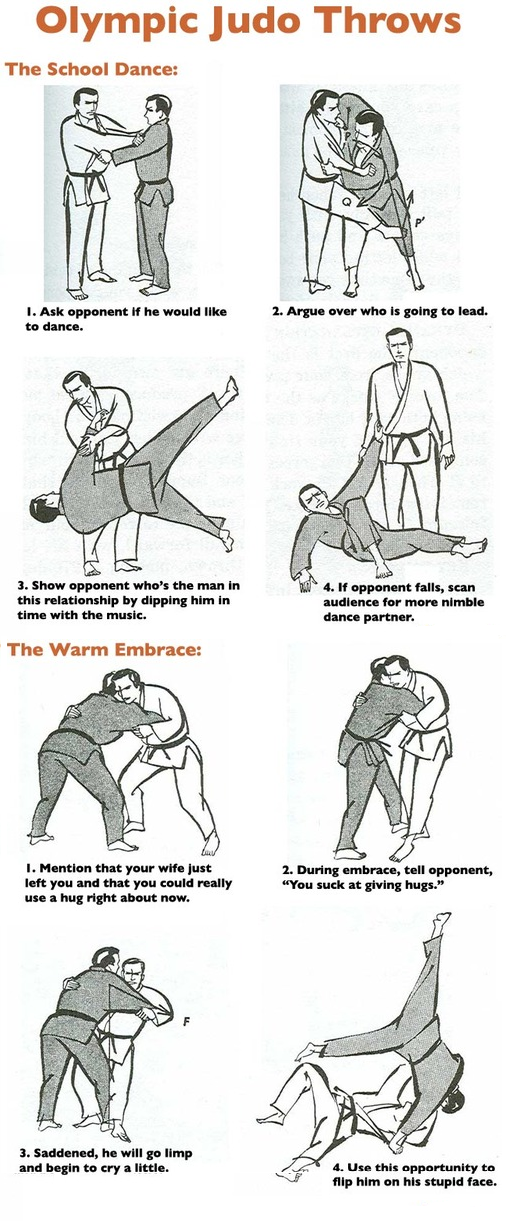 Judo Throws: The School Dance and Warm Embrace by HiroCProtagonist ...