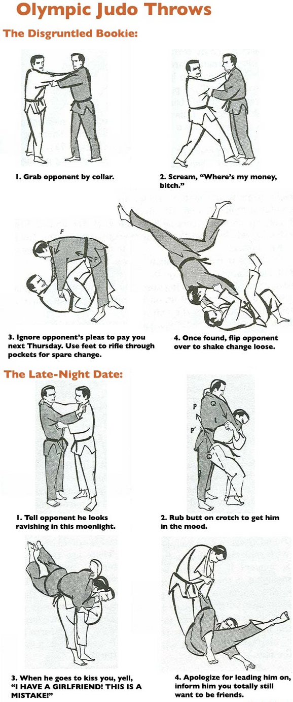 Judo Throws: The Disgruntled Bookie and Late Dance by ...