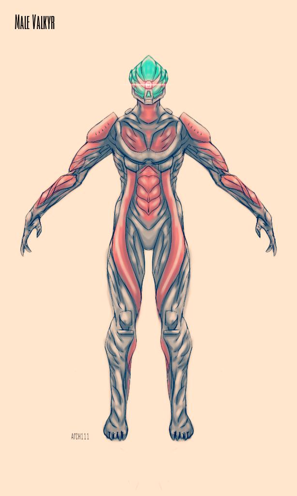 Valkyr Male Concept by gaber111