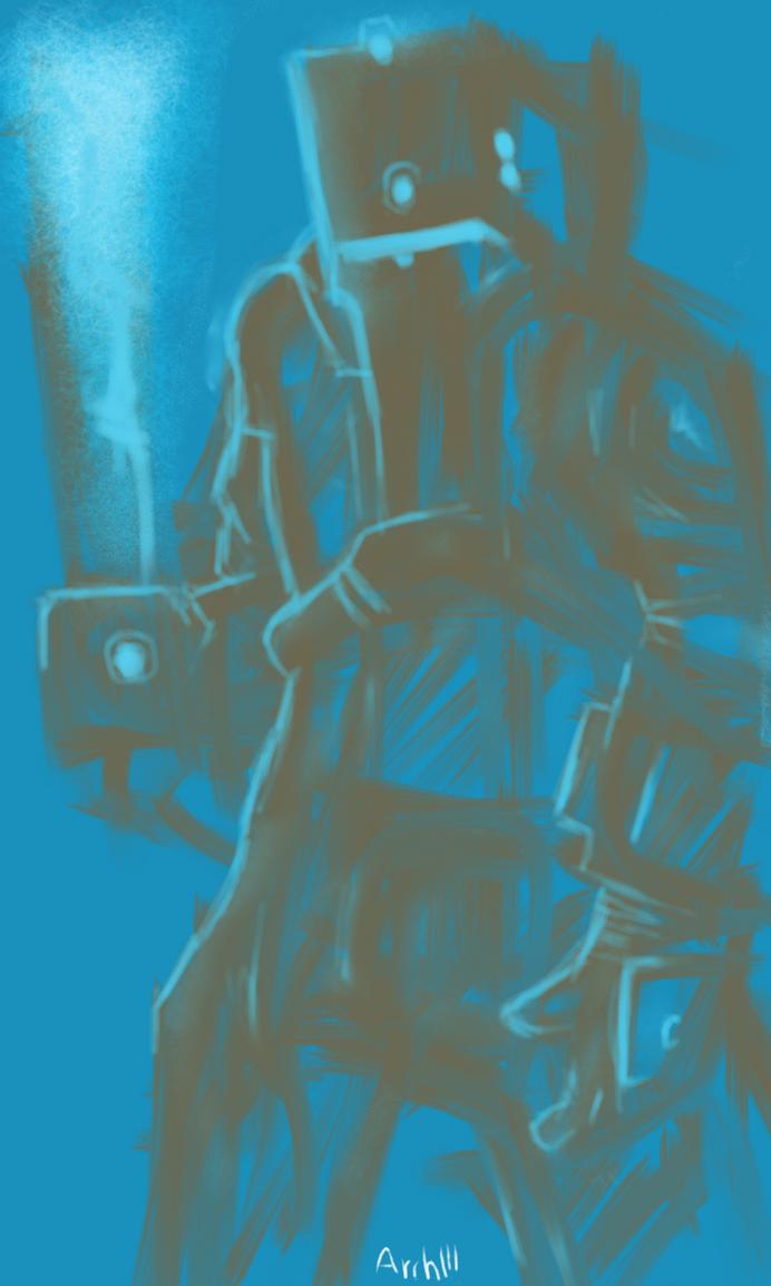 crewman doodle by gaber111