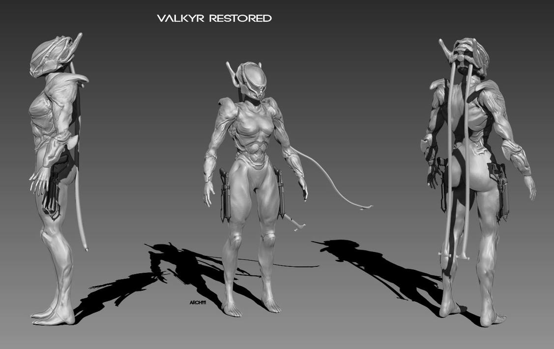Restored valkyr with guns by gaber111