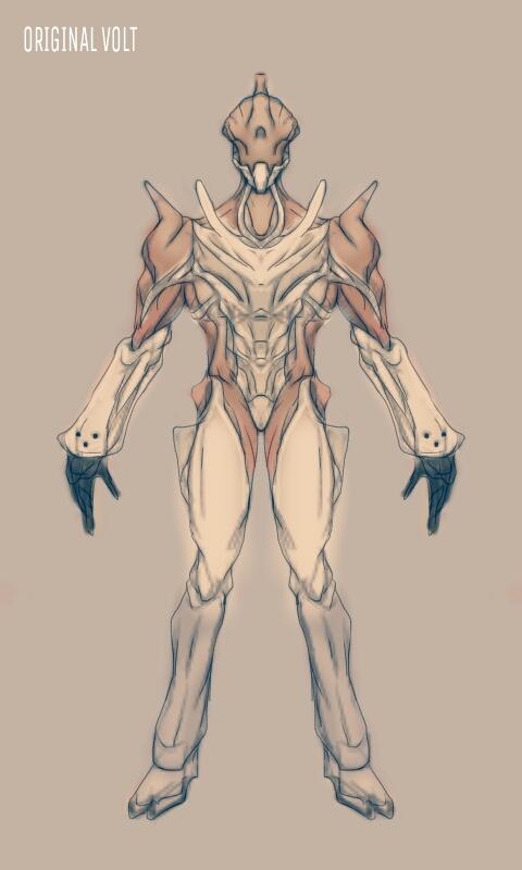 fanart original volt based on de s original concept fan art Warframe Loki originalvolt by gaber111 d9h0szc