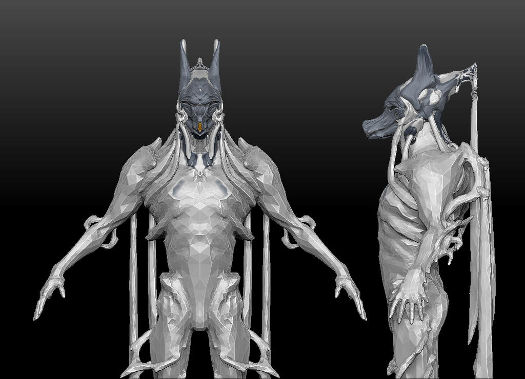 Nekros Anubis helmet progress v10 body by gaber111