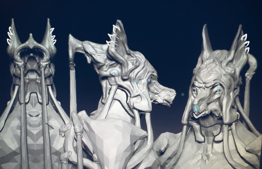 Nekros final model wip by gaber111